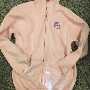 Youth Roxy zip up hoodie
